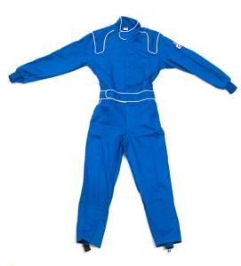 CROW ENTERPRIZES #24033 Driving Suit 1-Piece BL 1-Layer Proban XL