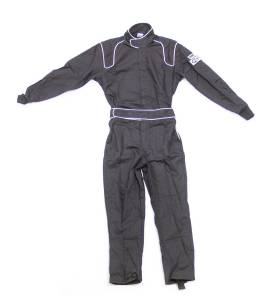 CROW ENTERPRIZES #24084 Driving Suit Junior BK Proban Large 1-Piece