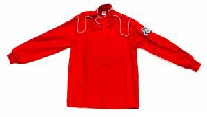 CROW ENTERPRIZES #25022 Jacket 1-Layer Proban Red Large