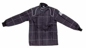 CROW ENTERPRIZES #28024 Jacket 2-Layer Proban Black Large