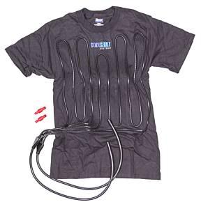 COOL SHIRT #1012-2072 Cool Shirt XXX-Large Black