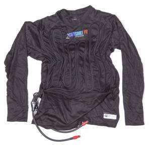 COOL SHIRT #1024-2052 2 Cool Shirt Black X-Lrg SFI 3.3