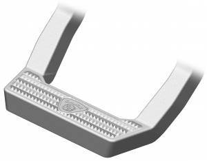 CARR #118224 LD Steps XP4 Titanium Silver Pair