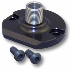 CVR PERFORMANCE #OFA65 Billet Alum Spin On Filter Mount