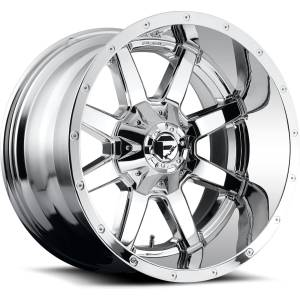 FUEL OFF ROAD #D61020909850 Wheel-Maverick 20x9 6x13 5/6x139.70 Gloss Black