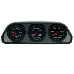 AUTO METER #7060 3 Gauge Dash Pod Kit - UTV Extreme Environment