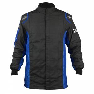 K1 RACEGEAR #21-SPT-NB-L Jacket Sportsman Black / Blue Large