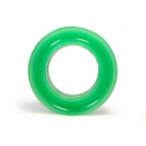 RE SUSPENSION #RE-SR250B-0750-70 Spring Rubber Barrel 70A Green 3/4 in Coil Space