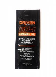 DRIVEN RACING OIL #778 GP-1 Assembly GEL 1oz Packet No Drip Formula