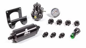 AEROMOTIVE #17351 Stealth EFI Fuel System Kit OE Return-less