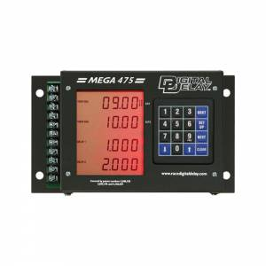 BIONDO RACING PRODUCTS #DDI-1095-BR MEGA 475 Delay Box wo/ Dial Board - Black/Red