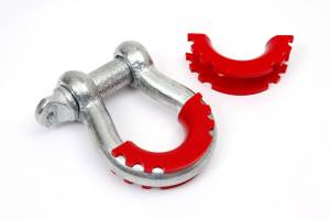 DAYSTAR PRODUCTS INTERNATIONAL #KU70056RE D-Ring/Shackle Isolator Red Pair