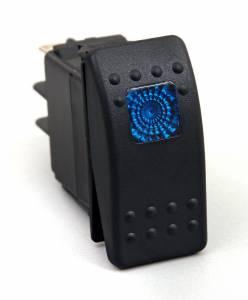 DAYSTAR PRODUCTS INTERNATIONAL #KU80011 Rocker Switch Blue