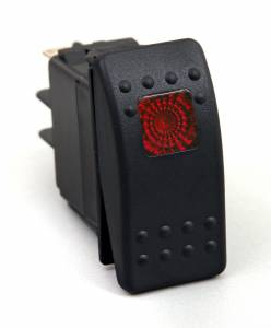 DAYSTAR PRODUCTS INTERNATIONAL #KU80014 Rocker Switch Red