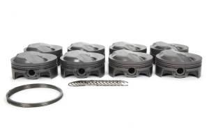 MAHLE PISTONS #930208340 SBC PowerPak Domed Piston Set 4.040 Bore