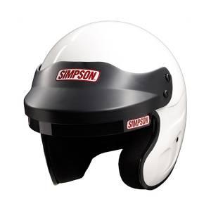 SIMPSON SAFETY #6320011 Helmet Cruiser Small White SA2015