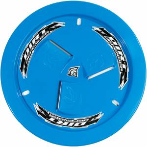 DIRT DEFENDER RACING PRODUCTS #10180 Wheel Cover Light Blue Vented
