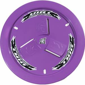 DIRT DEFENDER RACING PRODUCTS #10200 Wheel Cover Purple Vented