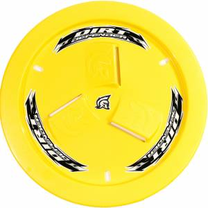 DIRT DEFENDER RACING PRODUCTS #10210 Wheel Cover Yellow Vented