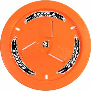 DIRT DEFENDER RACING PRODUCTS #10230 Wheel Cover Orange Vented