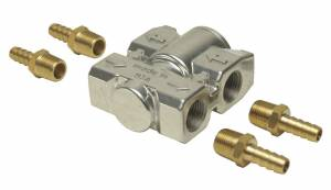 DERALE #13011 Fluid Control Thermostat Kit 3/8in NPT