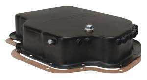 DERALE #14201 Black Trans Pan GM TH400 Standard Pan