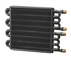 DERALE #15301 Dual Circuit Oil Cooler 8 & 8 Pass 8an