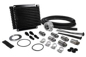 DERALE #15405 Plate & Fin Engine Oil C ooler Kit