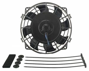 DERALE #16617 7in Tornado Electric Fan w/Standard  Mounting Kit