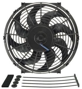 DERALE #16622 12in Tornado Electric Fan w/Standard Mount Kit