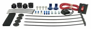 DERALE #16742 Complete Plastic Rod Mounting Kit w/Switch