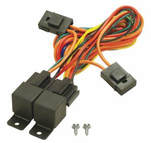 DERALE #16765 40/60 Amp Dual Relay w/Wiring Harness