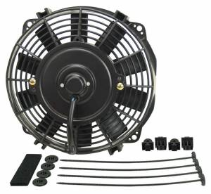 DERALE #16908 8in Dyno-Cool Straight Blade Electric Fan