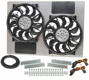 DERALE #16927 13in Dual High Output RAD Fans Puller