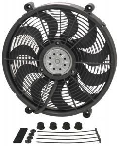 DERALE #18217 17in High Output Electrc Fan Std Kit