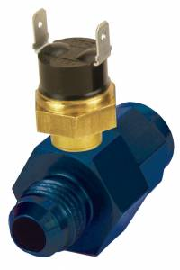 DERALE #35020 In-Line Fluid Thermostat 6an 180 Degree
