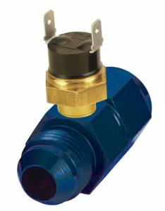DERALE #35021 In Line Fluid Thermostat 8an 180 Degree