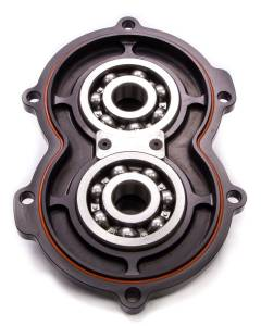 DIVERSIFIED MACHINE #RRC-1386B Billet Alum Rear Cover w/Bearings Black