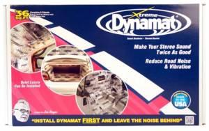 DYNAMAT #10455 Dynamat Extreme Bulk Pak 9- 18in x 32in
