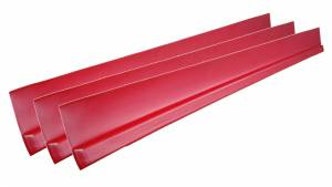 DOMINATOR RACING PRODUCTS #1100-RD Dirt Rocker Set Red 3pc