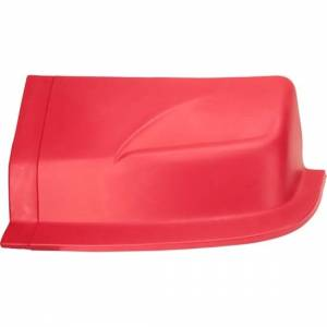 DOMINATOR RACING PRODUCTS #2201-RD D2X Dirt Nose Left Side Red * Special Deal Call 1-800-603-4359 For Best Price