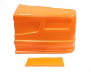 DOMINATOR RACING PRODUCTS #302-OR SS Nose Orange Left Side Dominator SS