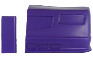 DOMINATOR RACING PRODUCTS #302-PU SS Nose Purple Left Side Side Dominator SS
