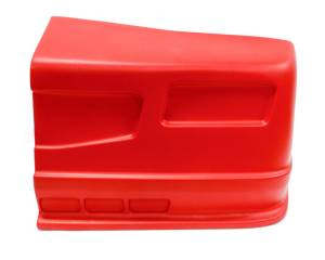 DOMINATOR RACING PRODUCTS #302-RD-NE SS Nose Red Left Side Dominator SS