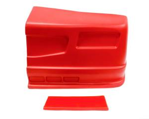 DOMINATOR RACING PRODUCTS #302-RD SS Nose Red Left Side Dominator SS