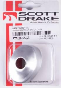 DRAKE AUTOMOTIVE GROUP #5R3Z-18A927-AL Antenna Base Cover 05-09 Mustang Satin