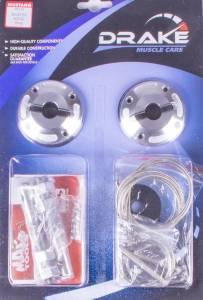 DRAKE AUTOMOTIVE GROUP #5R3Z-6316892-K Hood Pin Kit Billet 05-09 Mustang