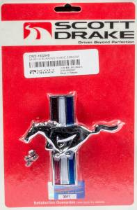 DRAKE AUTOMOTIVE GROUP #C5ZZ-16229-B 2005-12 Mustang Running Horse Grille Emblem