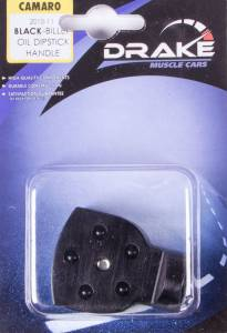 DRAKE AUTOMOTIVE GROUP #CA-120001-BLK Oil Dipstick Handle Cover Black 10-14 Camaro