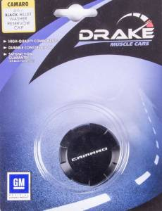 DRAKE AUTOMOTIVE GROUP #CA-120006-BLK Washer Fluid Cap Billet 10-14 Camaro * Special Deal Call 1-800-603-4359 For Best Price